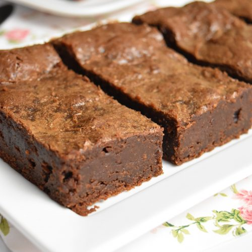 Brownie chocolat noir