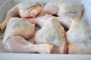 Cuisses de poulet farcies au citron et zaatar