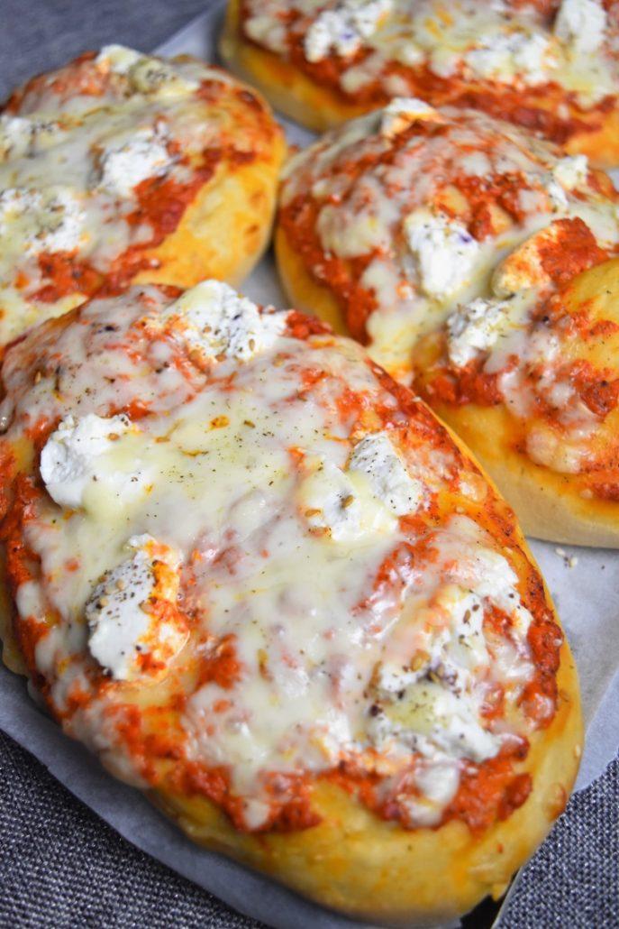 Pizza briochée