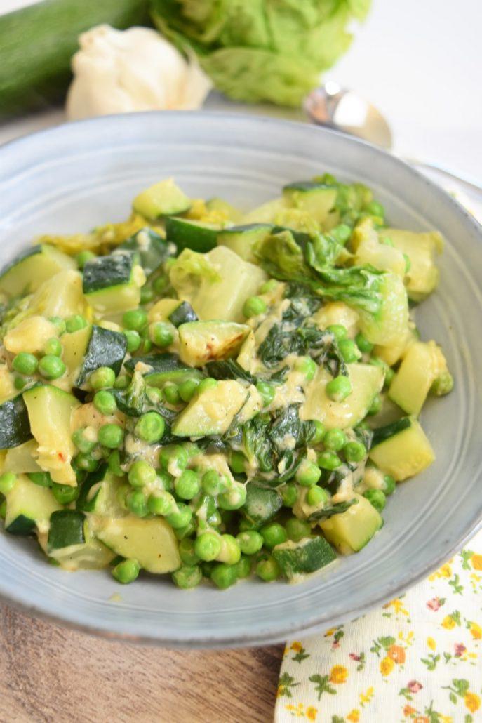 Légumes verts au Cookeo