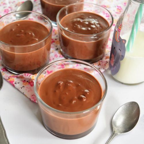 Riz au lait au chocolat noir au Cookeo