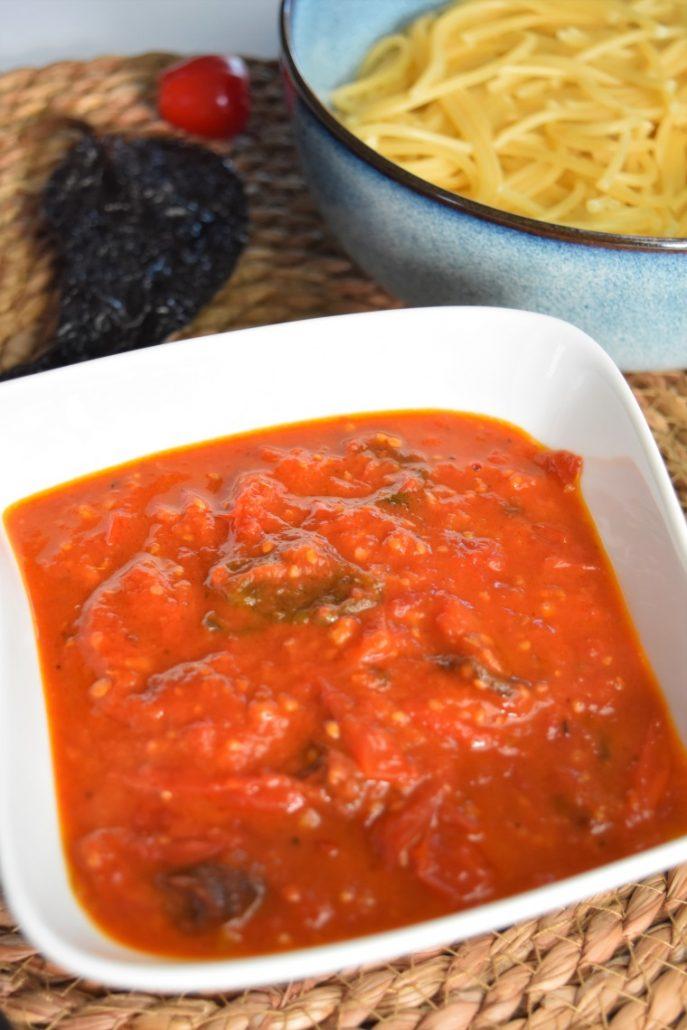 Sauce au piment ancho