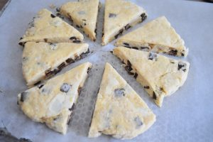 Scones en triangles
