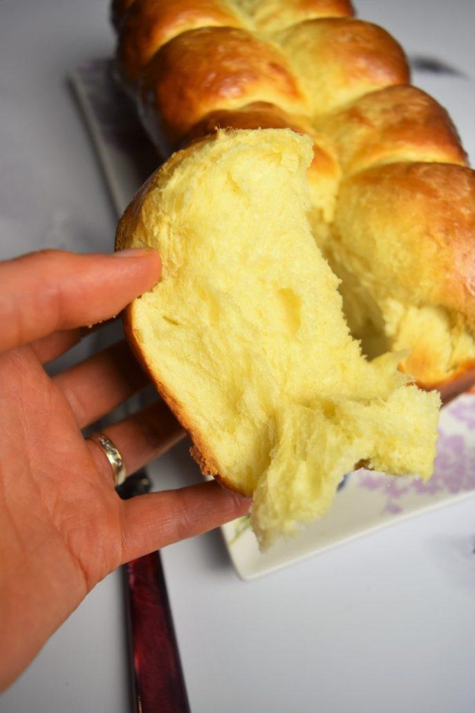 Brioche du boulanger sans lait