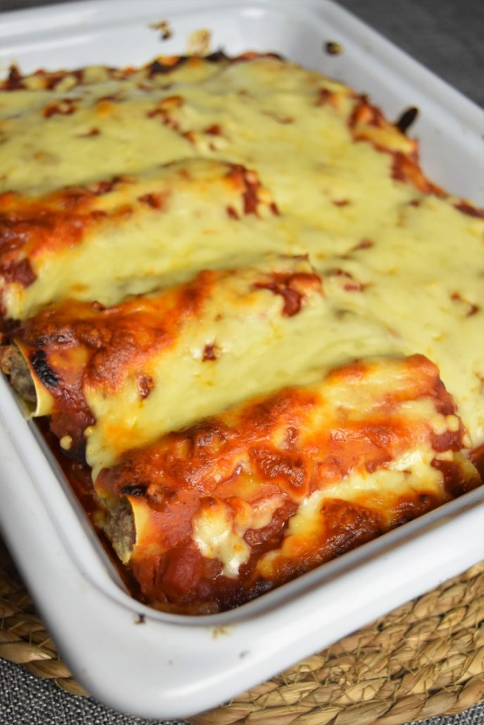 Cannelloni gratinés
