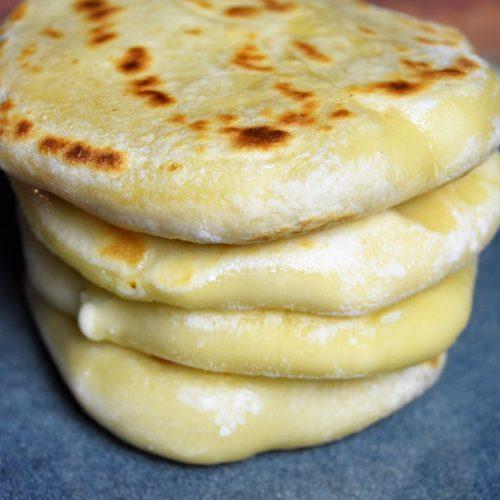 pain indien cuit à la poêle