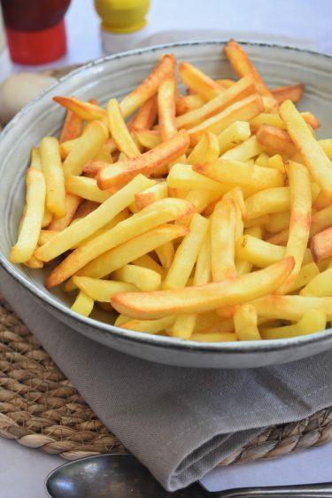 Frites cuites au four