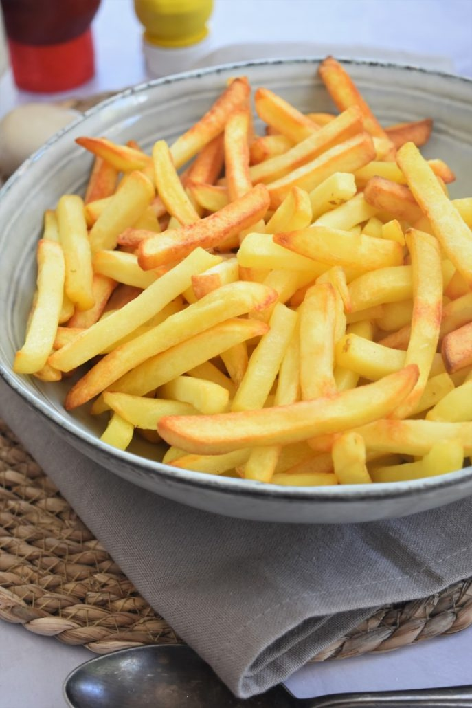 Frites surgelées au four