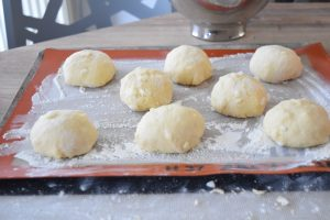 Gaufres liégeoises avant cuisson