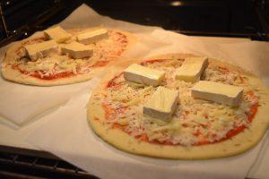 Pizzas aux fromages