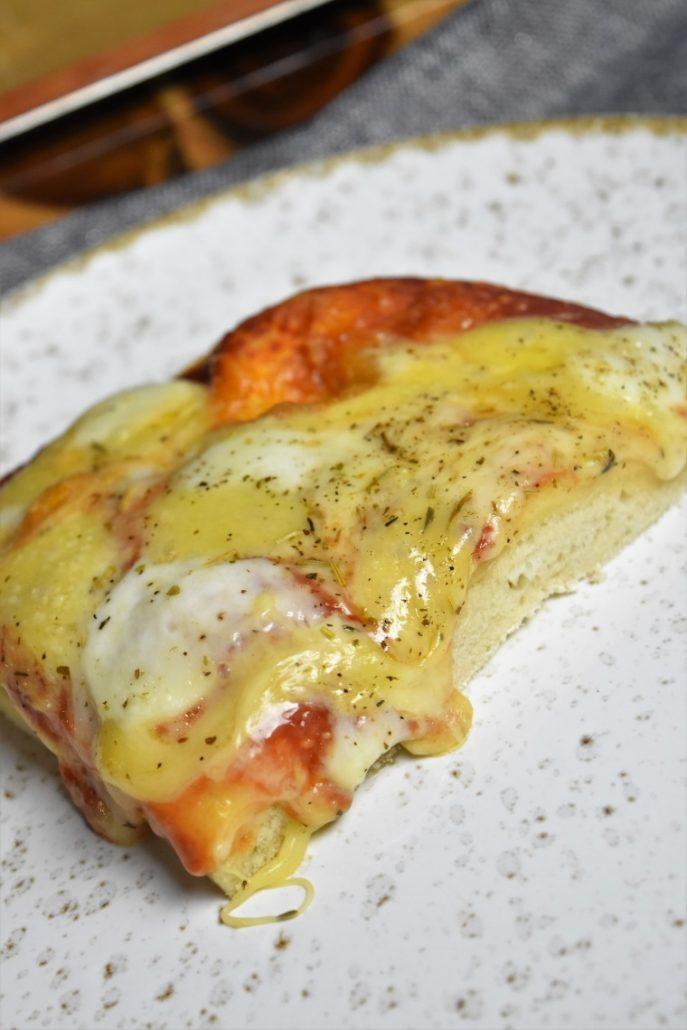 Pizza maison au levain