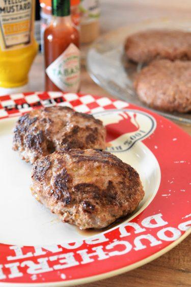 Steaks maison pour hamburger