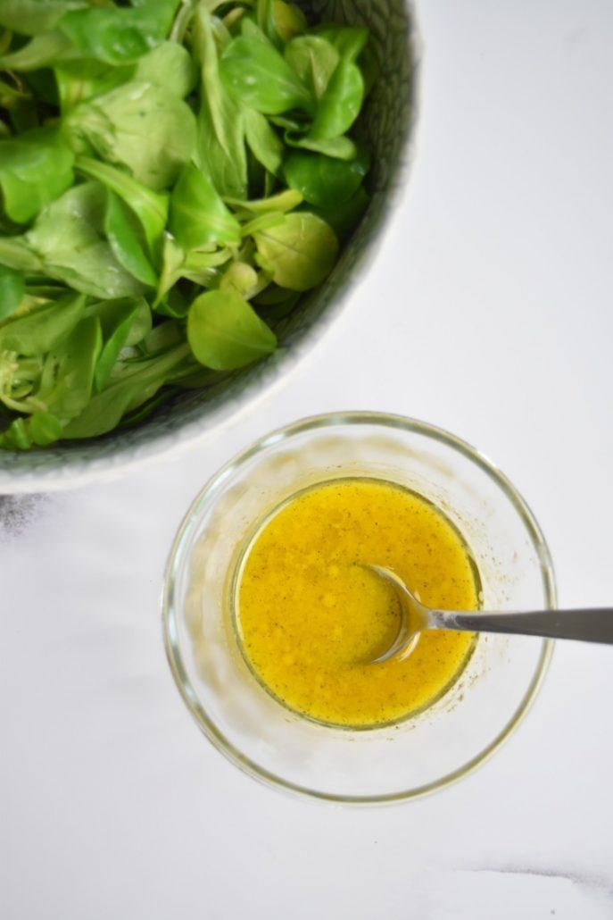 Vinaigrette allégée à la moutarde