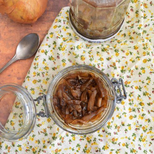 Confit d'oignon facile et rapide au Cookeo