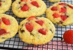 Cookies moelleux aux fraises