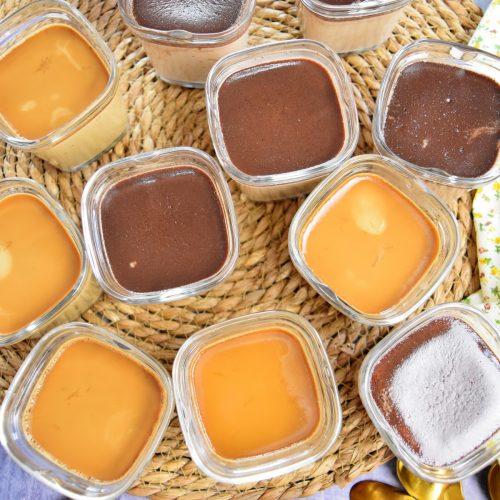 Crèmes café et nutella à la multi délices