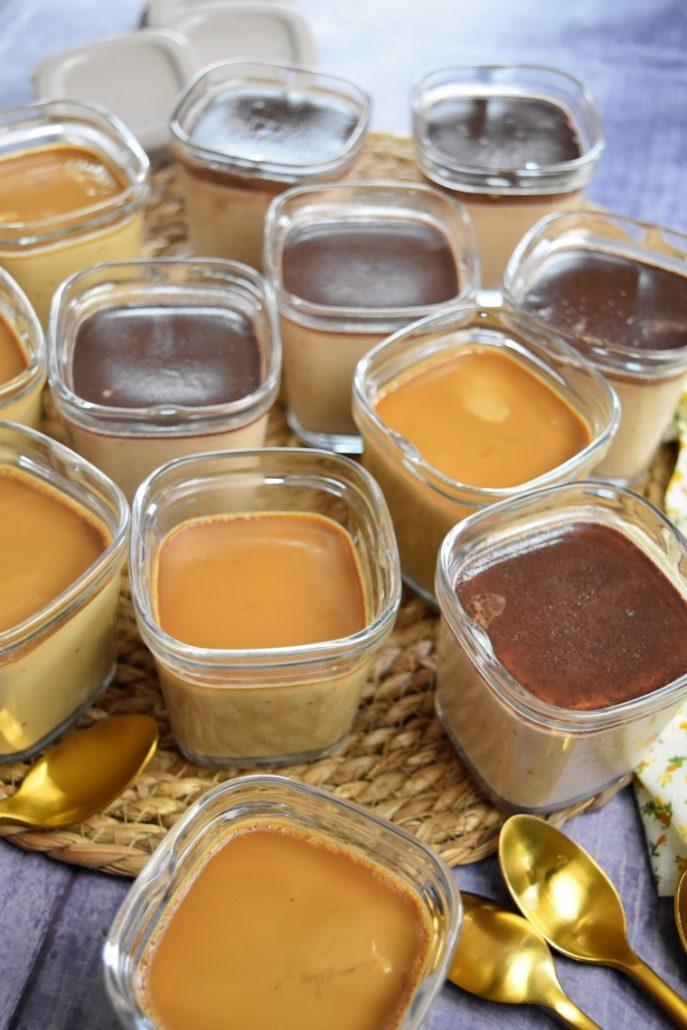Crèmes dessert à la multi délices