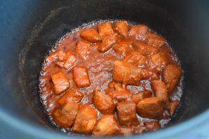 Porc cuit au Cookeo
