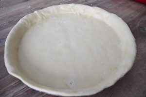 Pâte à tarte au levain