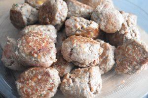 Boulettes de viande dorées