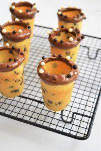 Cookies shot au chocolat