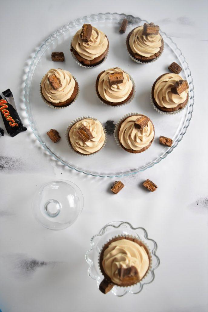 Brownies avec chantilly au mars
