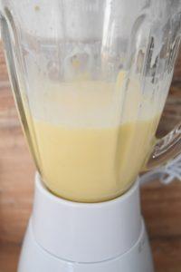 Milk shake au blender