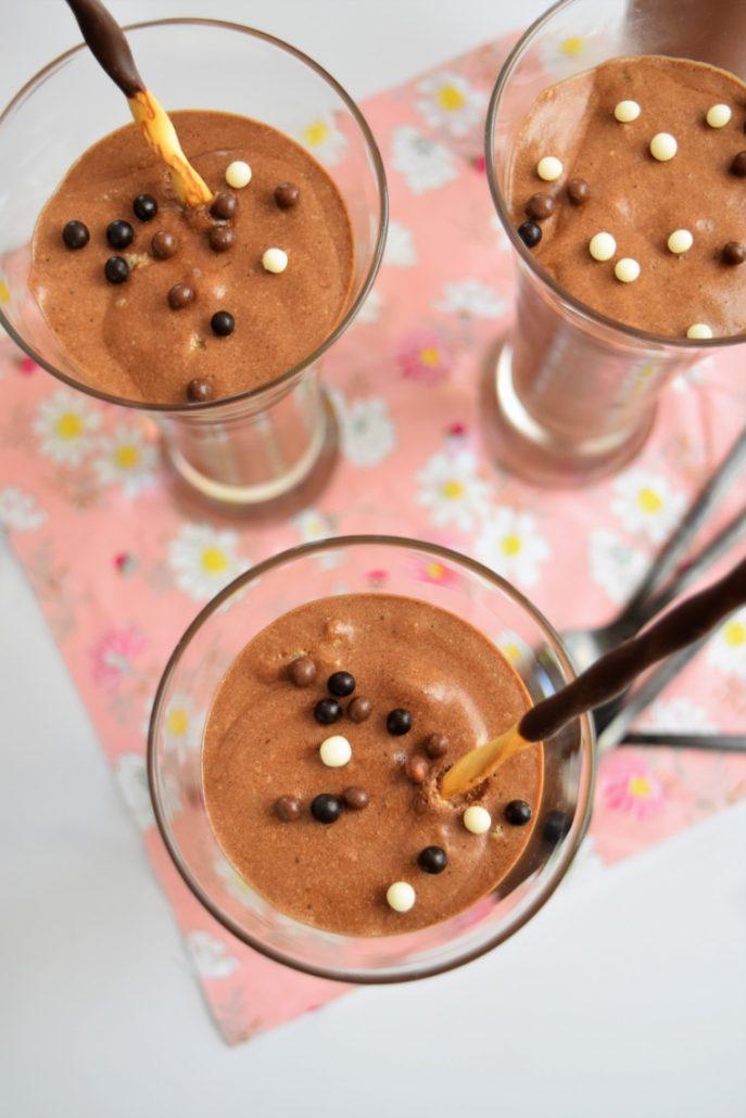 Mousse au chocolat et oeufs