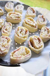 Pizza rolls avant cuisson