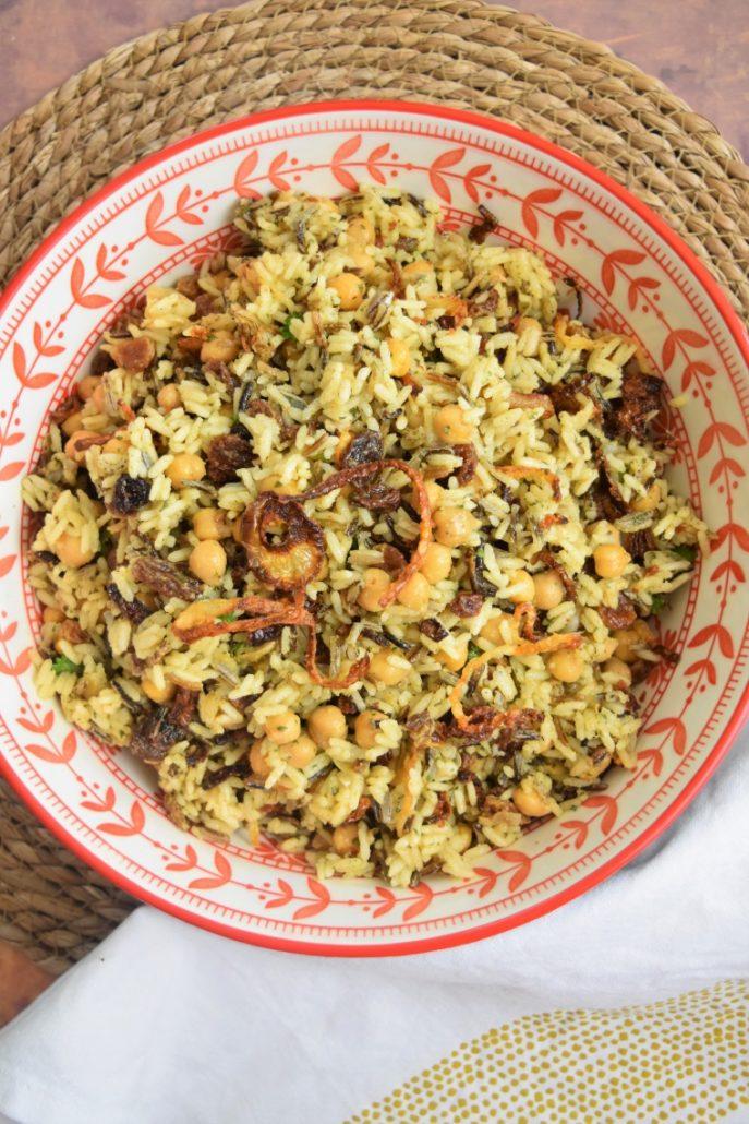 Salade de riz de Yotam Ottolenghi