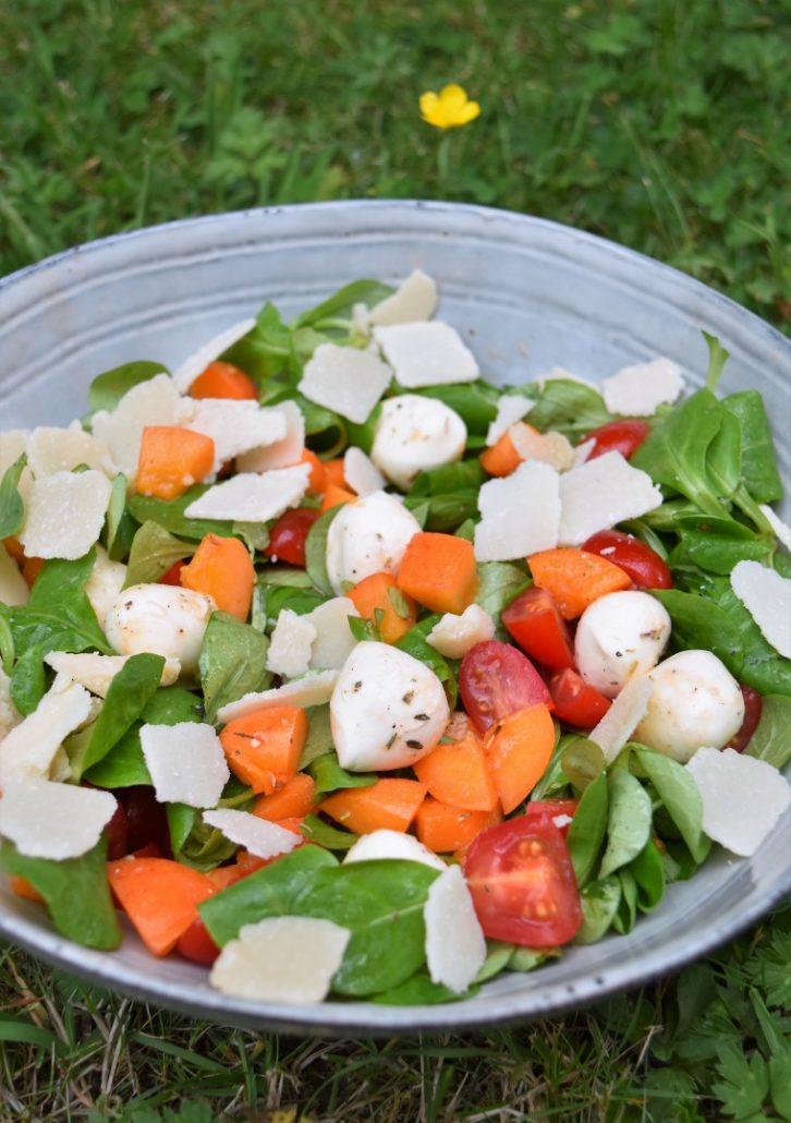 Abricot en salade