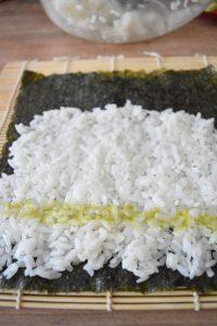 Makis au wasabi
