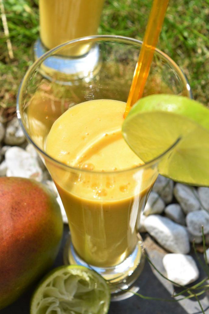 Milk-shake facile à la mangue
