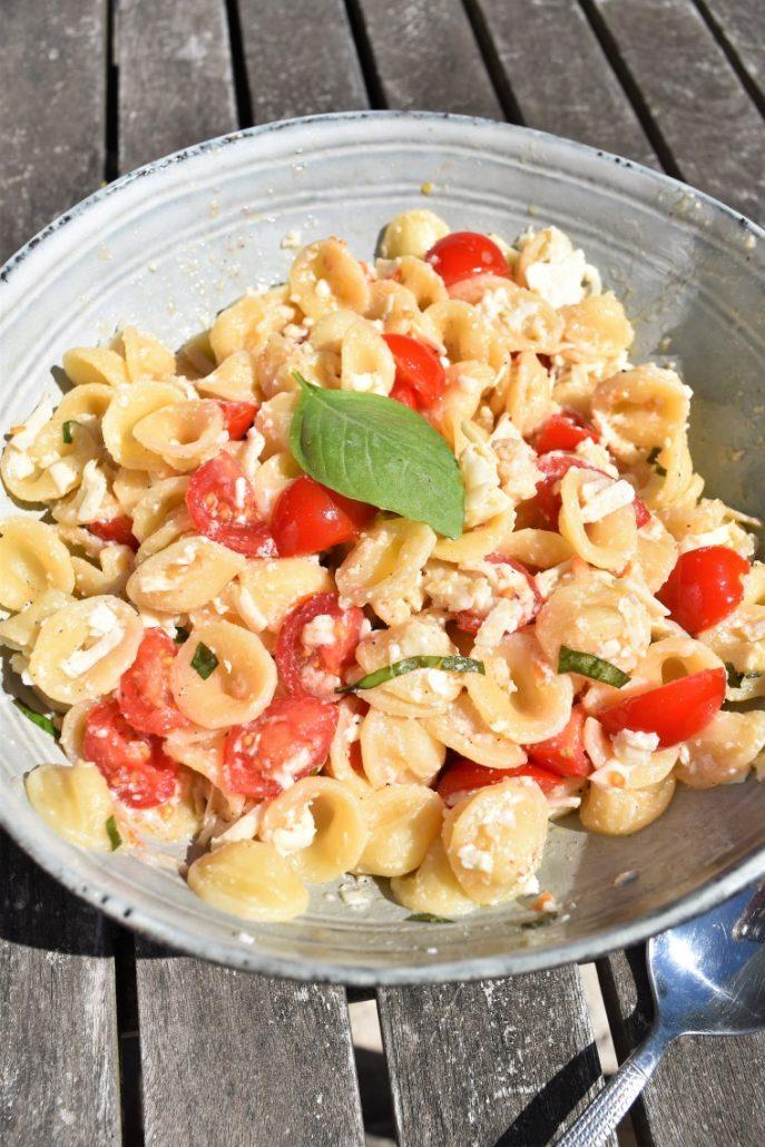 Salade de pasta alla crudaiola