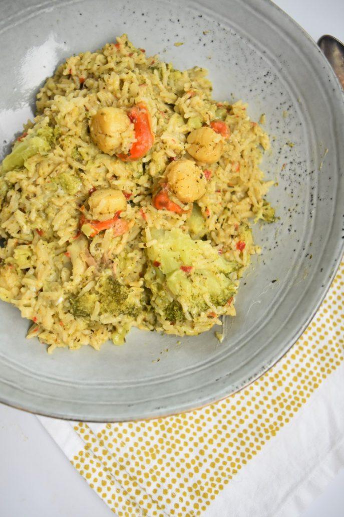 Riz au brocoli au cookeo