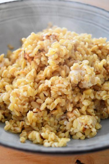 Blé au rice cooker