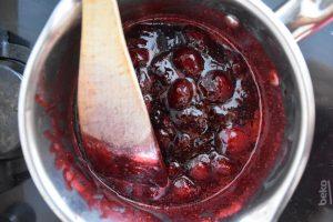 Confit de fraises pour tarte