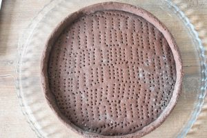 Fond de tarte au cacao
