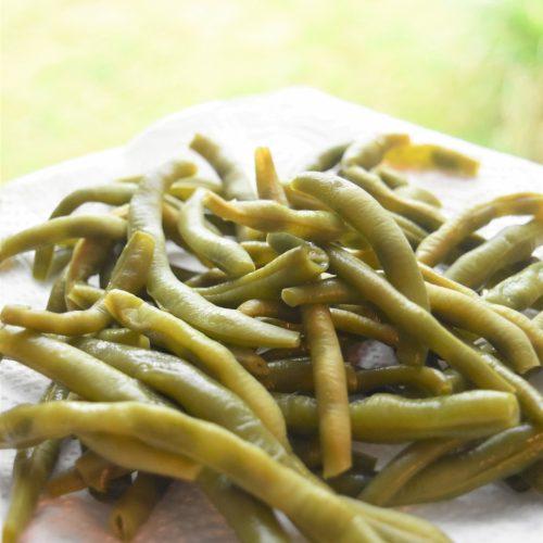 Cuisson des haricots verts au Cookeo