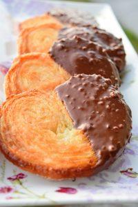 Palmiers géants au chocolat