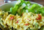 Riz aux haricots verts frais