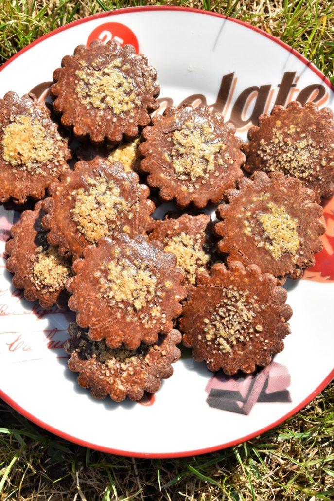 Petits sablés maison au chocolat