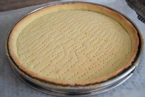 Fond de tarte pour tarte aux fraises