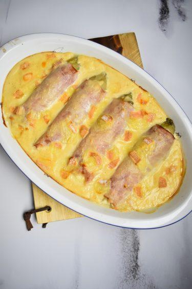 Endives au jambon et fromage de Cyril Lignac