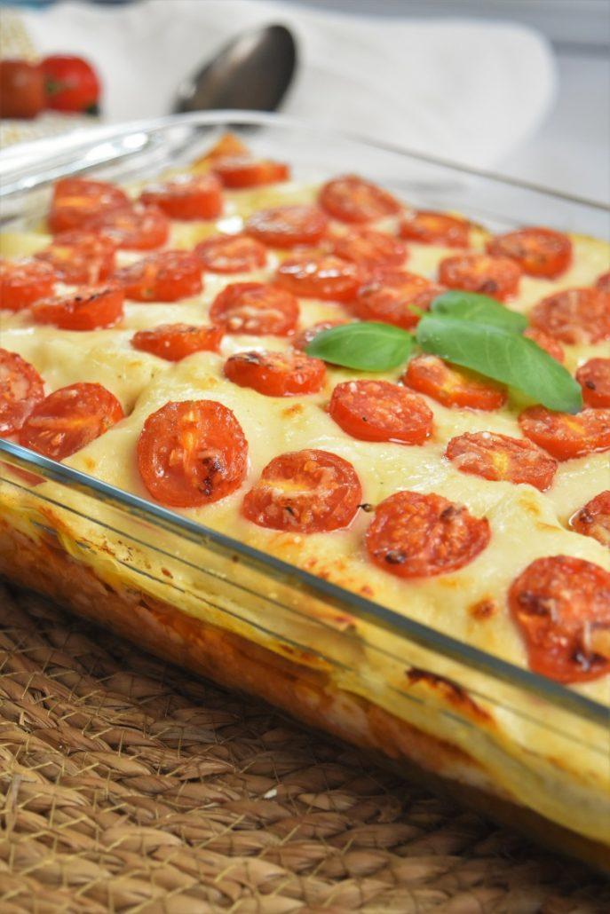 Lasagnes légumes et thon de Cyril Lignac