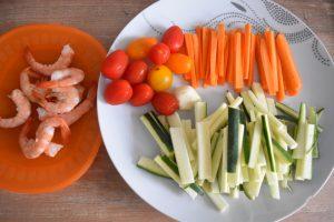 Légumes pour nouilles sautées