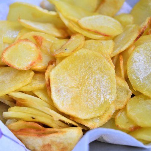 Pommes de terre chips maison