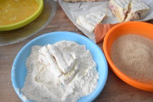 Panure pour fromage pané