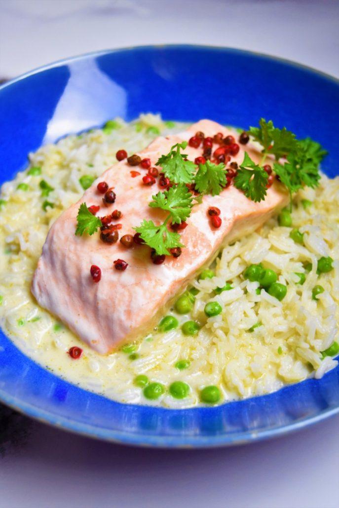 Saumon au bouillon thaï de Cyril Lignac