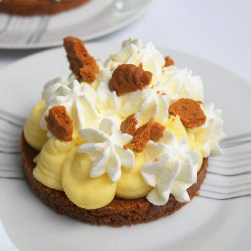 Tartelettes au citron et spéculoos façon Fantastik